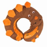 LittleLife Animal Snooze Pillows Dinosaur