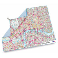 Lifeventure SoftFibre OS Map Towel central London