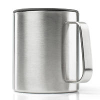 GSI Glacier Stainless Camp Cup 296 ml brushed