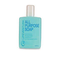 Lifeventure All Purpose Soap 200 ml - mýdlo s anti