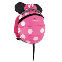 LittleLife Disney Kids Backpack 4l pink minnie