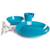 GSI Cascadian 1 Person Table Set sky blue