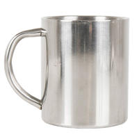 Lifeventure Stainless Steel Camping Mug 230ml