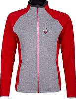 High Point Skywool 4.0 Sweater Lady red/gre vel. M