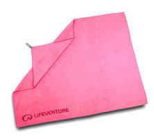 LifeVenture SoftFibre Trek Towel Giant Pink