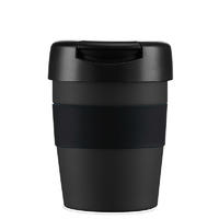 Lifeventure Insulated Coffee cup black 250 ml