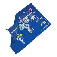 Lifeventure SoftFibre Trek Towel Words