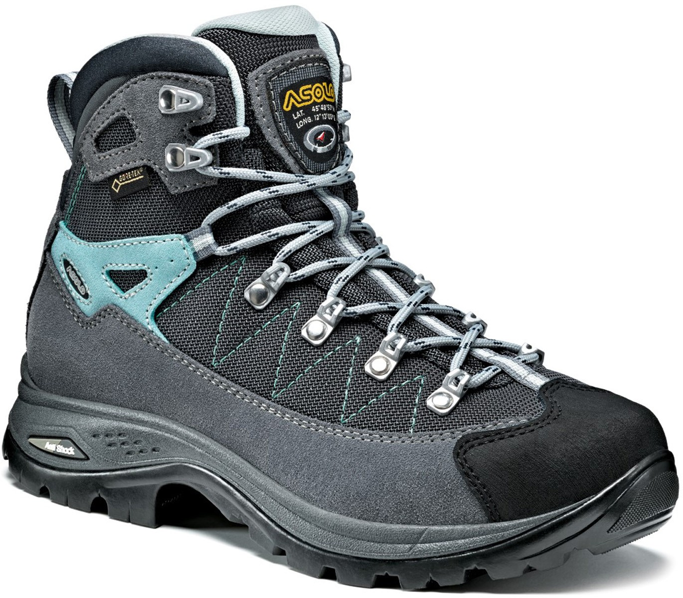 Asolo Finder GV ML grey/gunmetal vel. 7,5 - 1