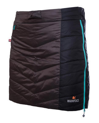 Warmpeace Shee sukně grey/black/iron vel. M - 1