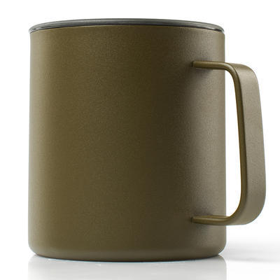 GSI Glacier Stainless Camp Cup 444 ml olive - 1