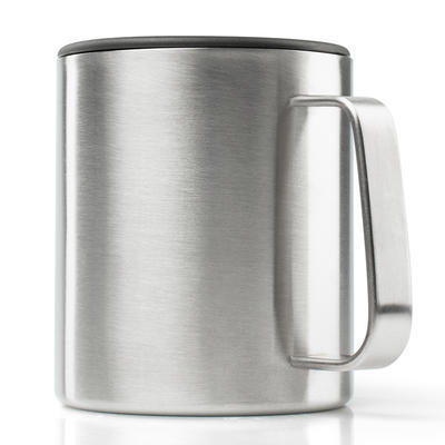 GSI Glacier Stainless Camp Cup 444 ml brushed - 1