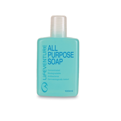Lifeventure All Purpose Soap 100 ml - mýdlo s anti - 1