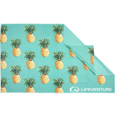 Lifeventure Printed SoftFibre Trek Towel pineapple - 1
