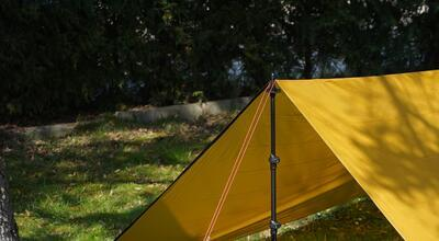 Warmpeace Plachta Shelter nugget gold - 1