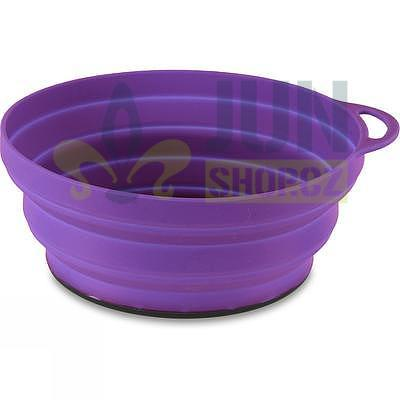 Lifeventure Silicon Ellipse Bowl purple - 1
