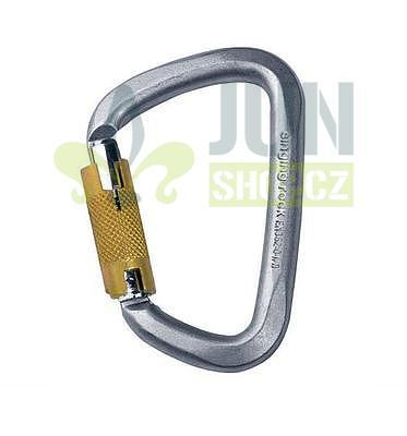 Singing Rock D karabina ocel / Triple Lock 50kN - 1