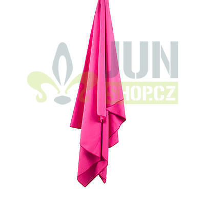 LifeVenture SoftFibre Trek Towel pocket pink - 1