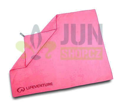 LifeVenture SoftFibre Trek Towel giant pink - 1
