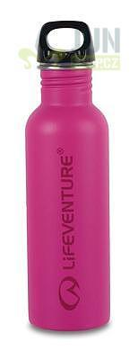 LifeVenture Stainless Steel Bottle 800ml pink - 1