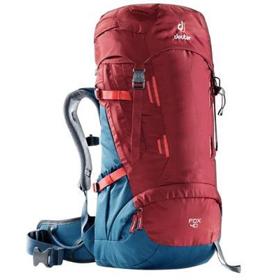Deuter Fox 40 cranberry - steel - 1