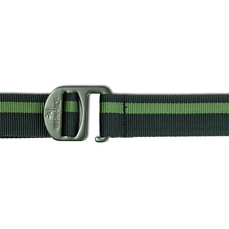 Warmpeace Hookle belt iron/green - 1