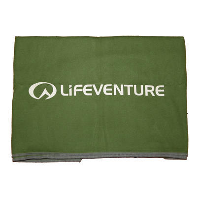 Lifeventure Compact Trek Towel green - 1