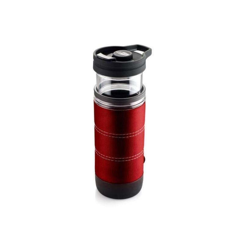 GSI Commuter Java press 440 ml red - 1