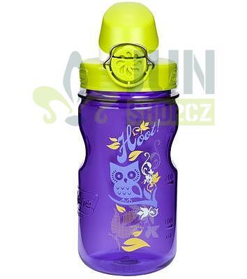 Nalgene Clear Kids OTF 350ml purple hoot - 1
