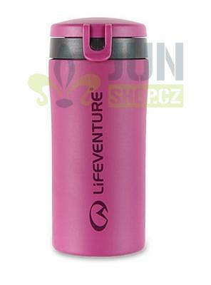 Lifeventure Flip-top Thermal Mug pink - 1
