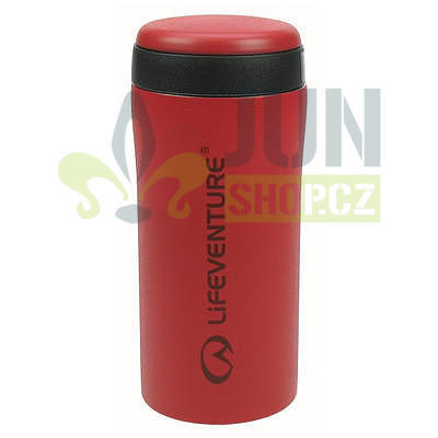 Lifeventure Thermal Mug matt red - 1