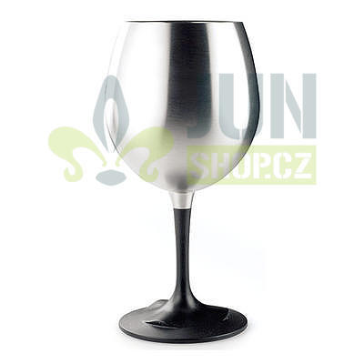 GSI Outdoors Glacier Stainless Red Wine Glass  - 1