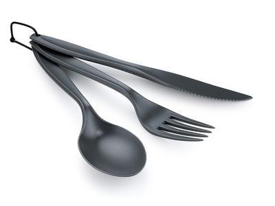 GSI Ring Cutlery Set grey - 1