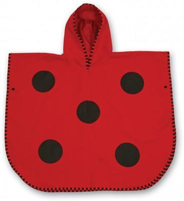 LittleLife Animal Poncho Towel ladybird medium - 2