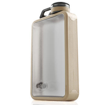 GSI Boulder Flask 177ml sand - 2