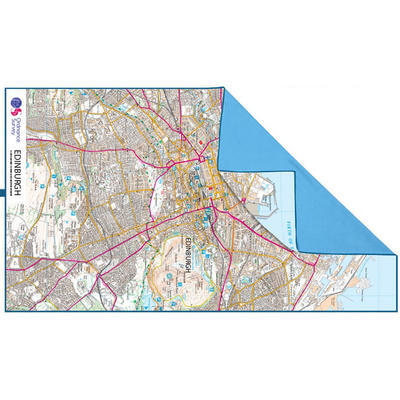 Lifeventure SoftFibre OS Map Towel Edinburg - 2