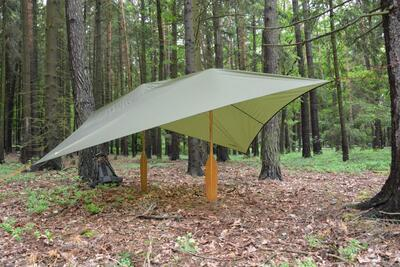 Warmpeace Plachta Shelter olive green - 2