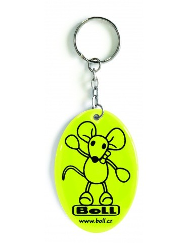 Boll reflective pendat 1 - yellow - 2