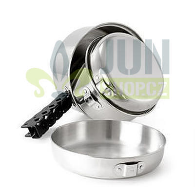 GSI Outdoors Glacier Stainless Cookset small  - 2