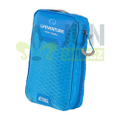 LifeVenture SoftFibre Trek Towel pocket blue - 2