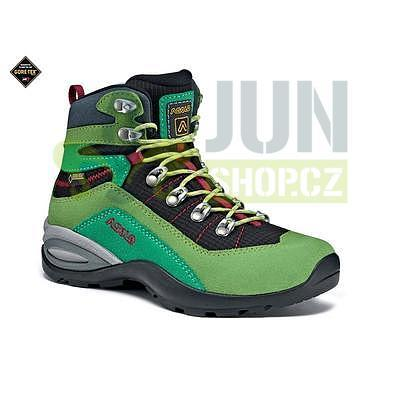 Asolo Enforce GV JR lime/black vel. 37 - 2