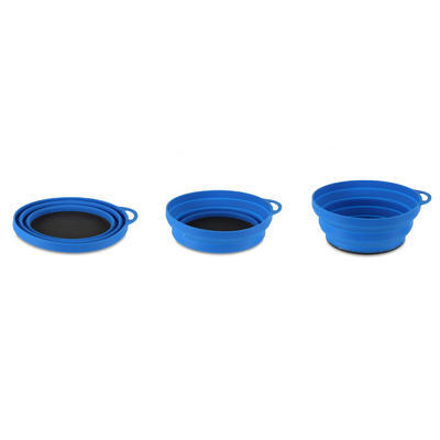 Lifeventure Ellipse Flexi Bowl blue - 2