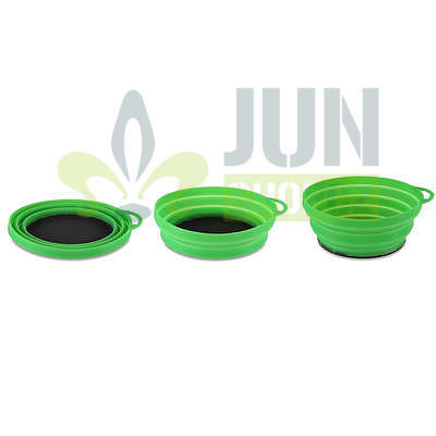 Lifeventure Silicon Ellipse Bowl green - 2