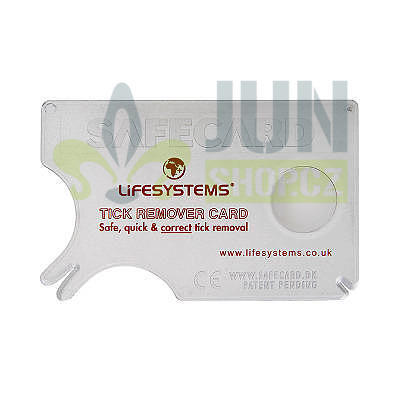 Lifesystems Tick Remover Card - 2