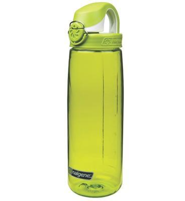 Nalgene OTF 650 ml iguana green, white cap  - 2