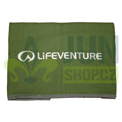 Lifeventure Compact Trek Towel green - 3