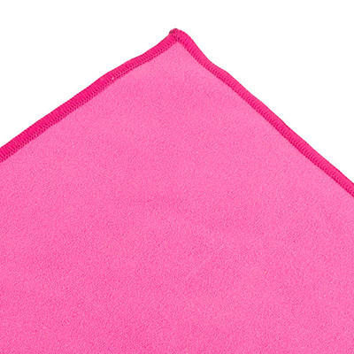 LifeVenture SoftFibre Trek Towel pocket pink - 3