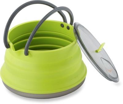 Sea to Summit X-Kettle skládací konvice lime 1,3l - 4